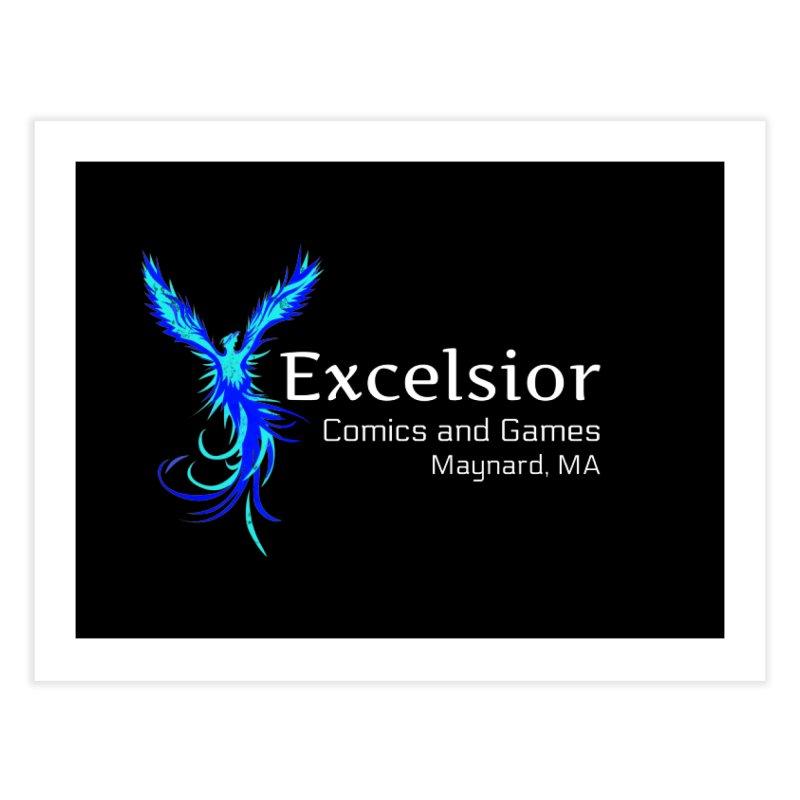 Basic Shirt Redux Home Fine Art Print by ExcelsiorGames's Artist Shop