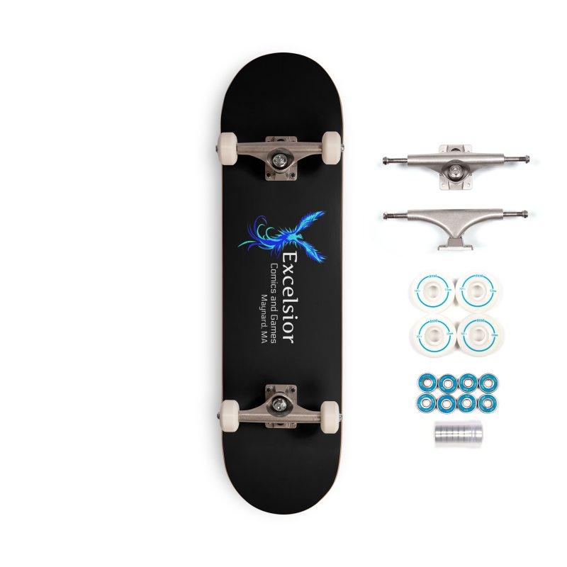 Basic Shirt Redux Accessories Skateboard by ExcelsiorGames's Artist Shop