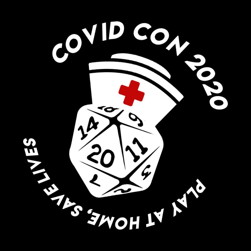 Covid Con 2020 Women's V-Neck by ExcelsiorGames's Artist Shop