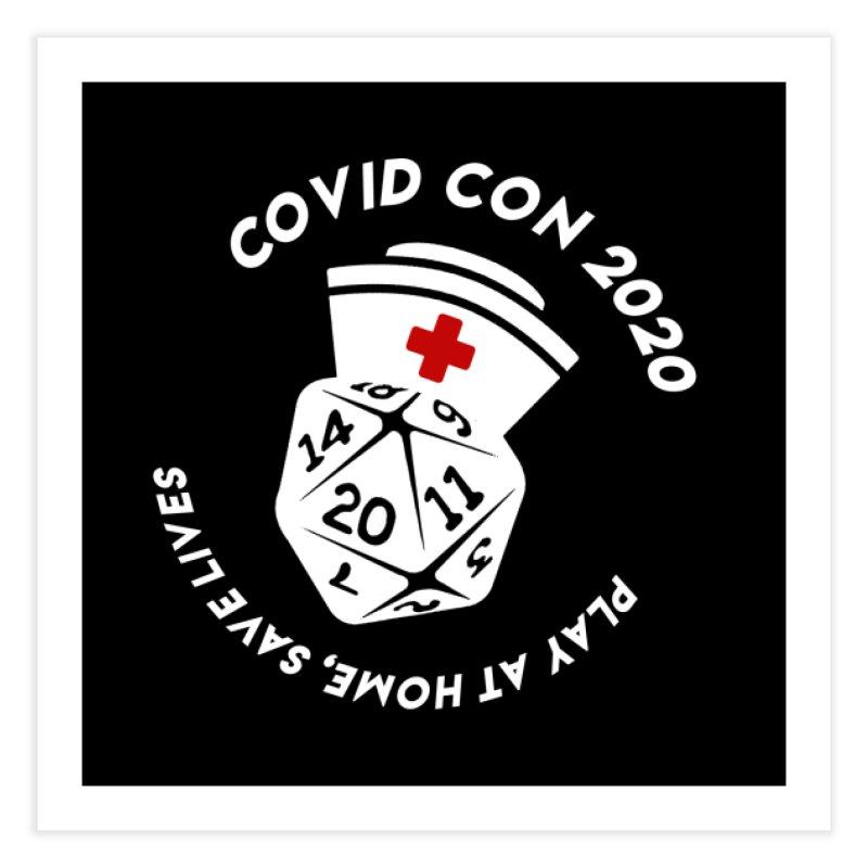 Covid Con 2020 Home Fine Art Print by ExcelsiorGames's Artist Shop