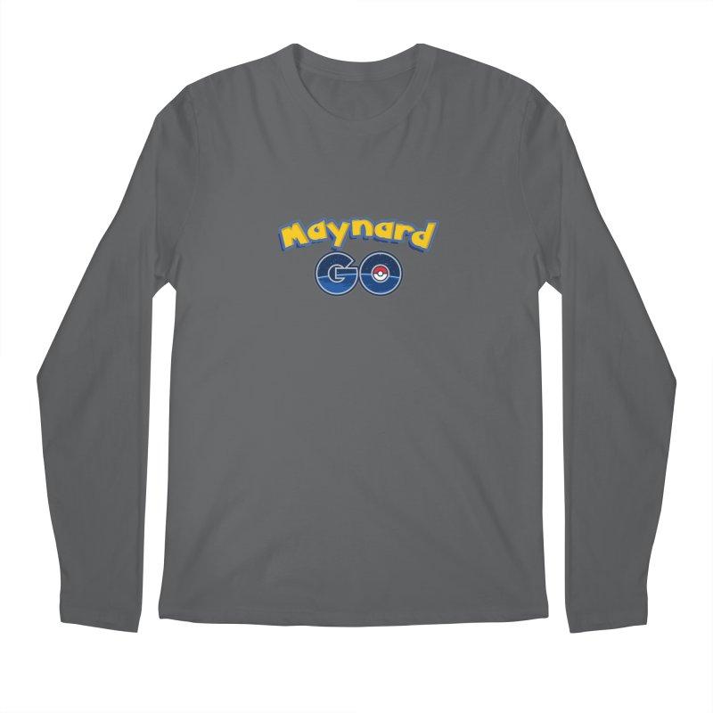 Maynard GO! Men's Longsleeve T-Shirt by ExcelsiorGames's Artist Shop