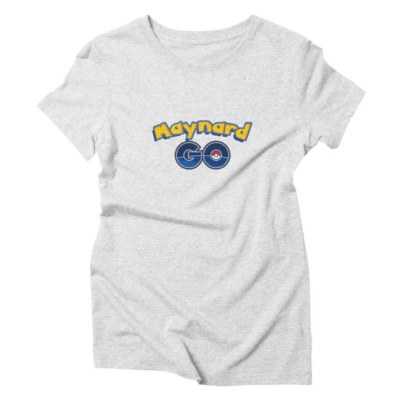 Maynard GO! Women's T-Shirt by ExcelsiorGames's Artist Shop