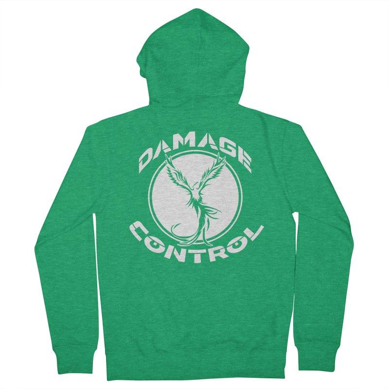 Damage Control Men's Zip-Up Hoody by ExcelsiorGames's Artist Shop