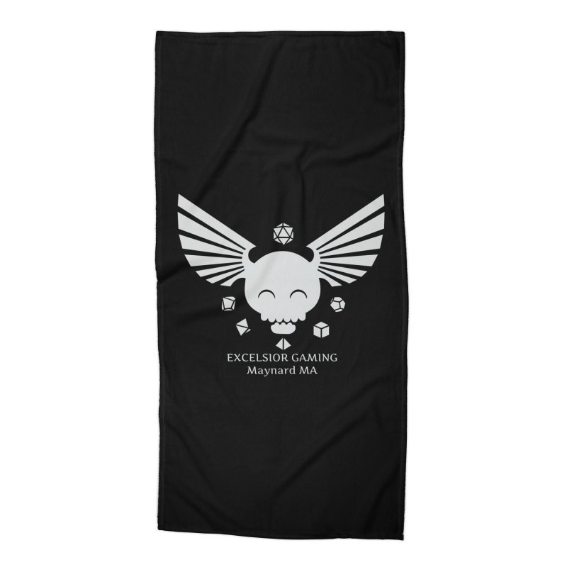 Excelsior Gaming Club Accessories Beach Towel by ExcelsiorGames's Artist Shop