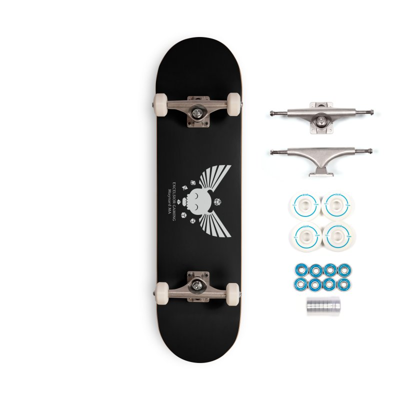 Excelsior Gaming Club Accessories Skateboard by ExcelsiorGames's Artist Shop