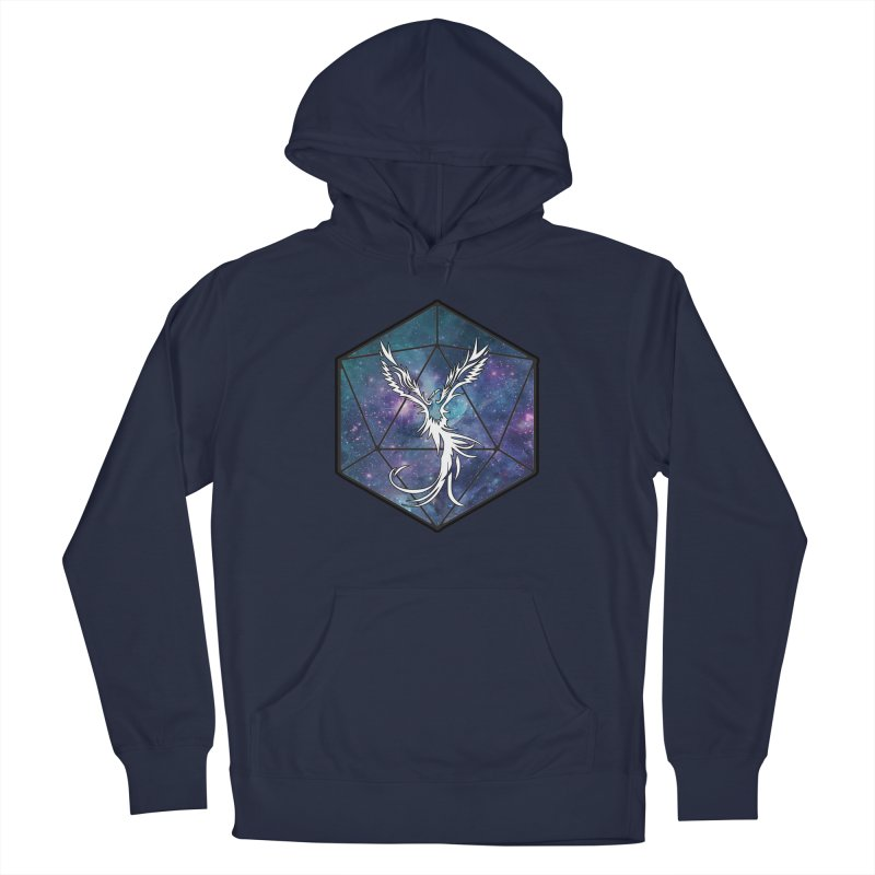 Galaxy D20 Blue Men's Pullover Hoody by ExcelsiorGames's Artist Shop