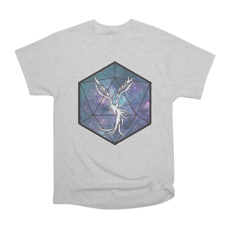 Galaxy D20 Blue Men's T-Shirt by ExcelsiorGames's Artist Shop