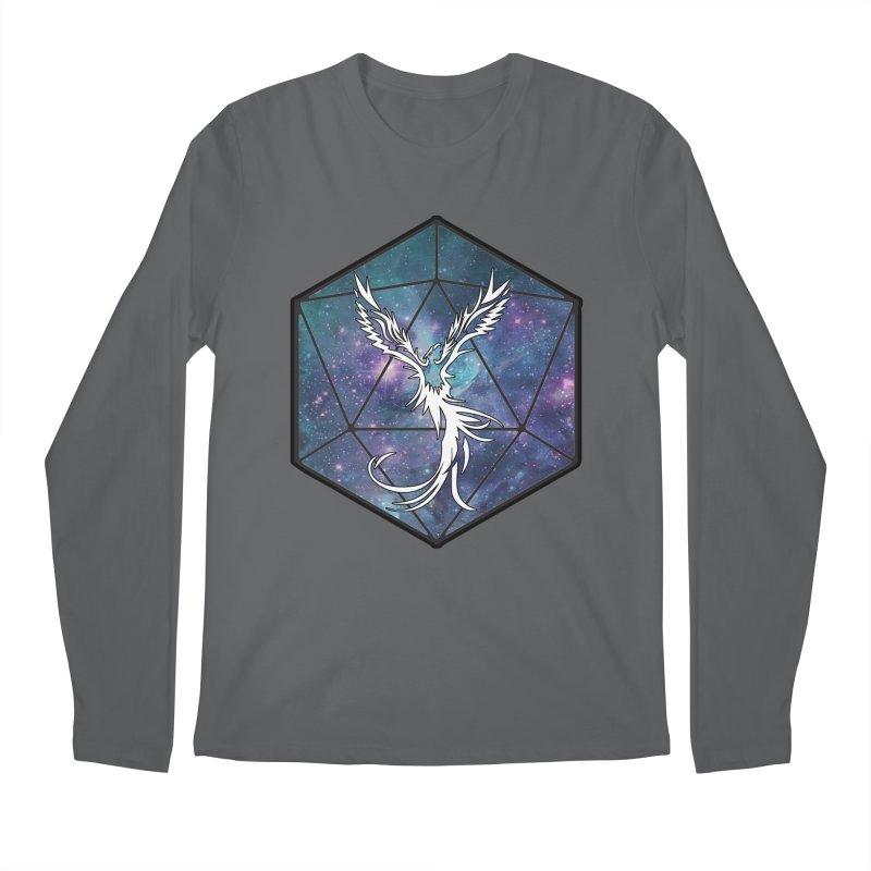 Galaxy D20 Blue Men's Longsleeve T-Shirt by ExcelsiorGames's Artist Shop