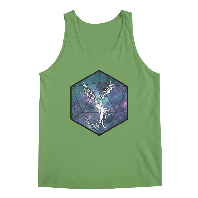 Galaxy D20 Blue Men's Tank by ExcelsiorGames's Artist Shop