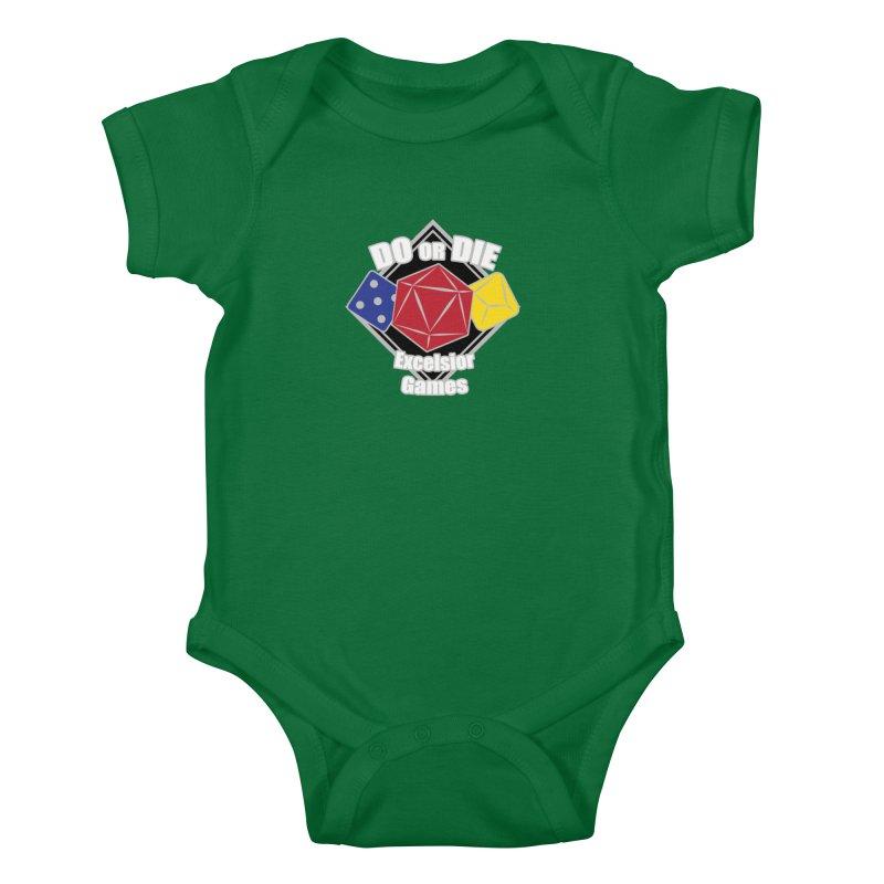 Do or Die Kids Baby Bodysuit by ExcelsiorGames's Artist Shop