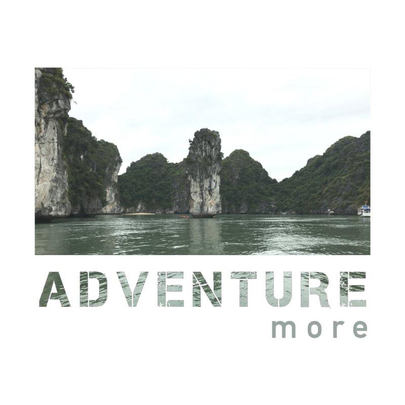 Adventure More (Cat Ba, Vietnam) Men's T-Shirt by Exit East