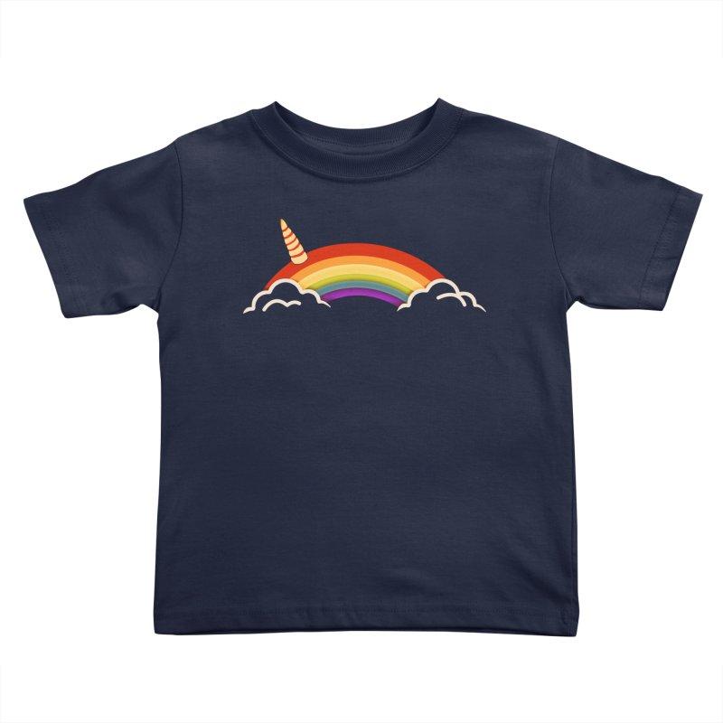 Leap of Faith Kids Toddler T-Shirt by ExplorerTales's Artist Shop