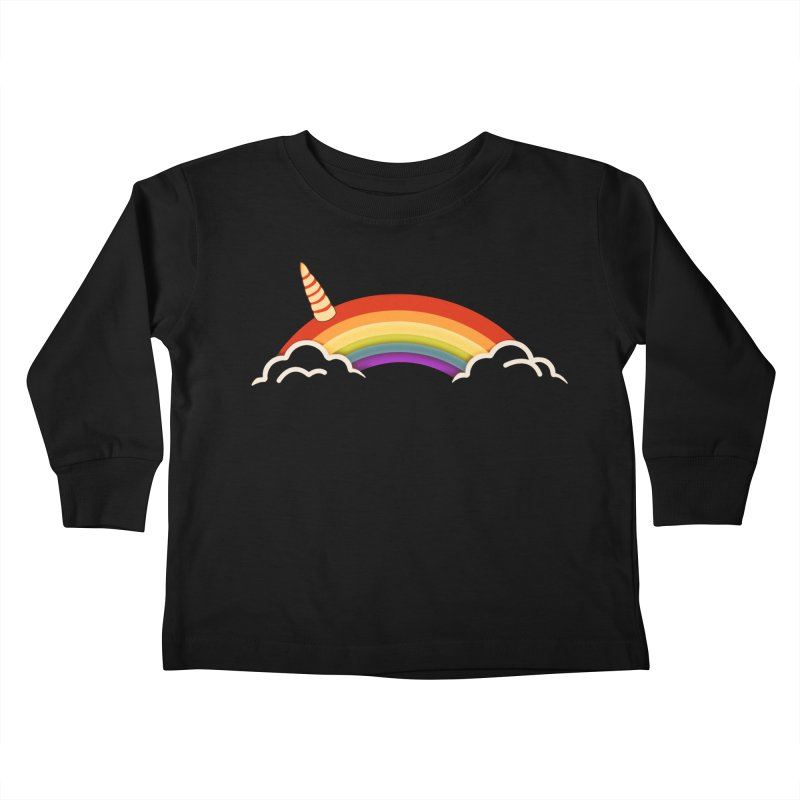 Leap of Faith Kids Toddler Longsleeve T-Shirt by ExplorerTales's Artist Shop