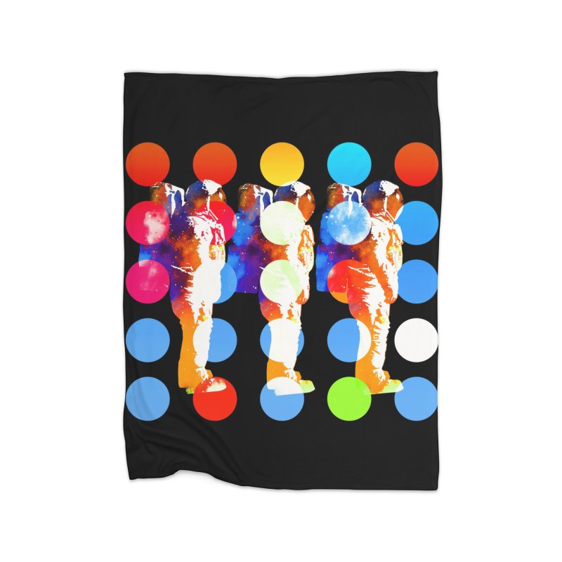 Polkanauts Home Blanket by ExplorerTales's Artist Shop