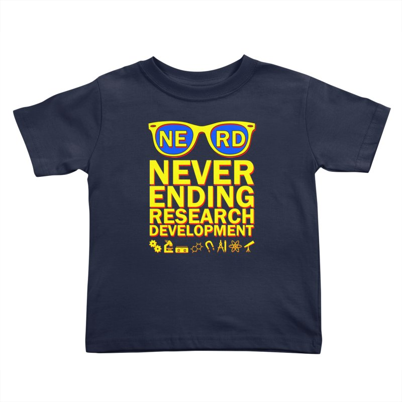 NERD Kids Toddler T-Shirt by ExplorerTales's Artist Shop