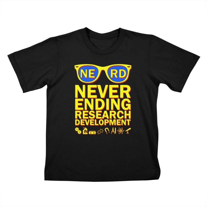 NERD Kids T-Shirt by ExplorerTales's Artist Shop