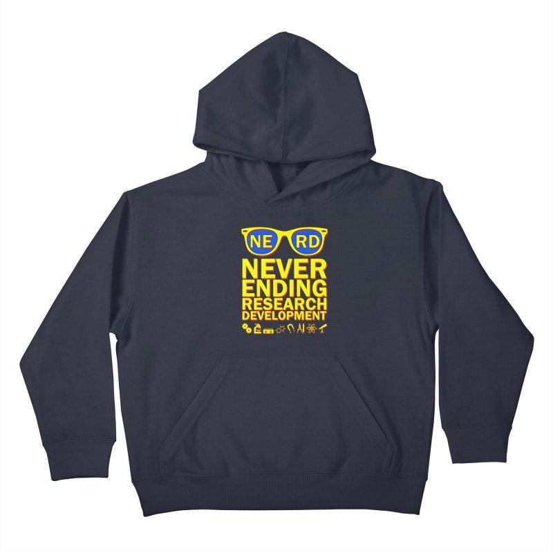 NERD Kids Pullover Hoody by ExplorerTales's Artist Shop