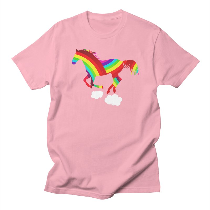 Made Of Rainbows Men's Regular T-Shirt by ExplorerTales's Artist Shop