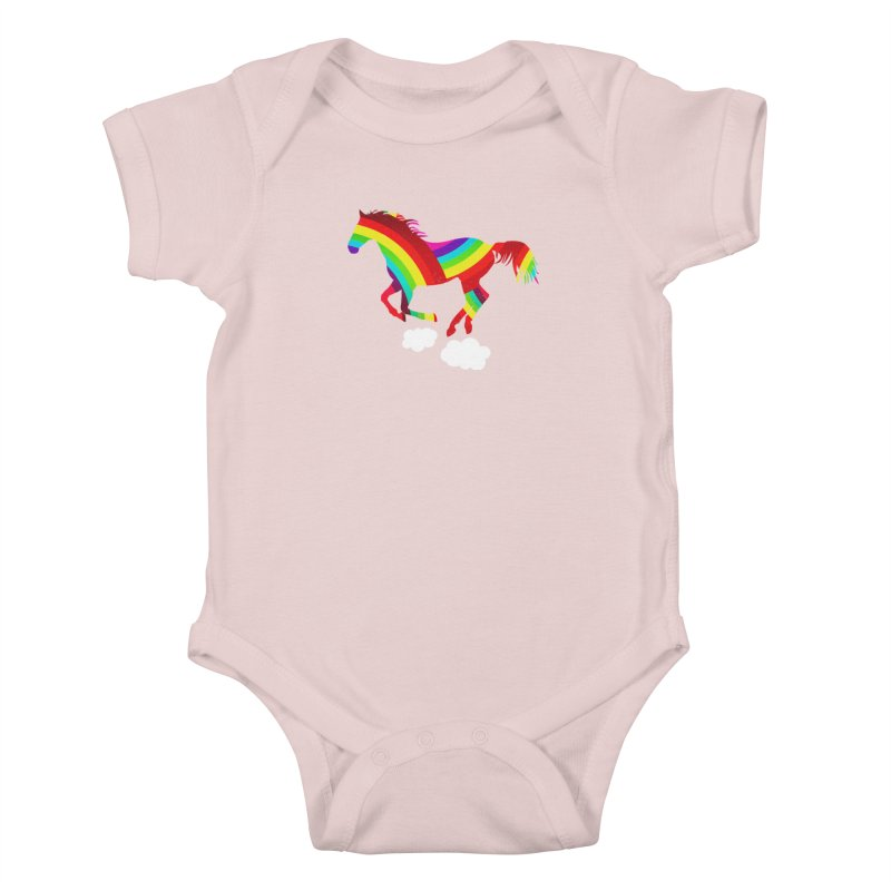 Made Of Rainbows Kids Baby Bodysuit by ExplorerTales's Artist Shop