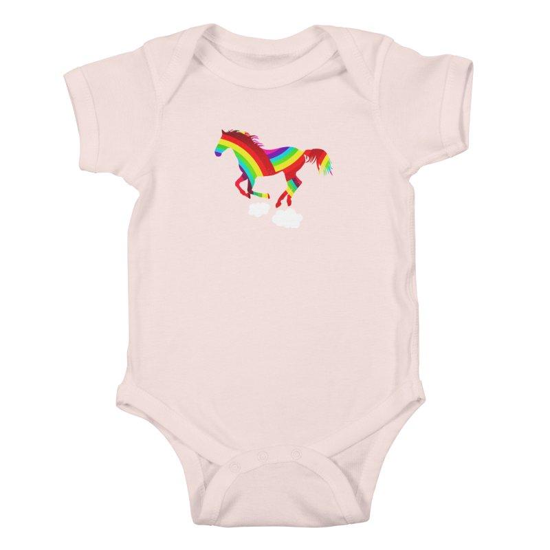 Made Of Rainbows Kids Baby Bodysuit by ExplorerTales's Artist Shop