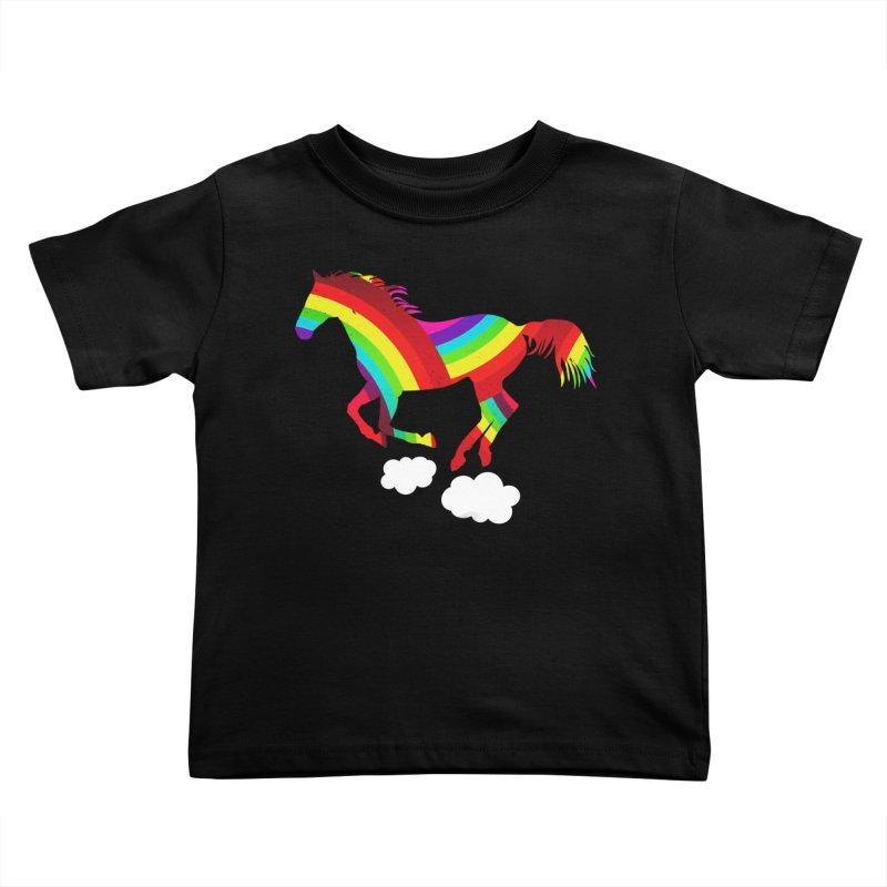Made Of Rainbows Kids Toddler T-Shirt by ExplorerTales's Artist Shop