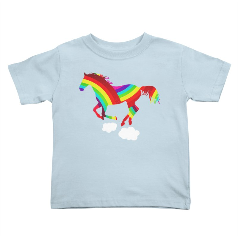 Made Of Rainbows Kids Toddler T-Shirt by ExplorerTales's Artist Shop