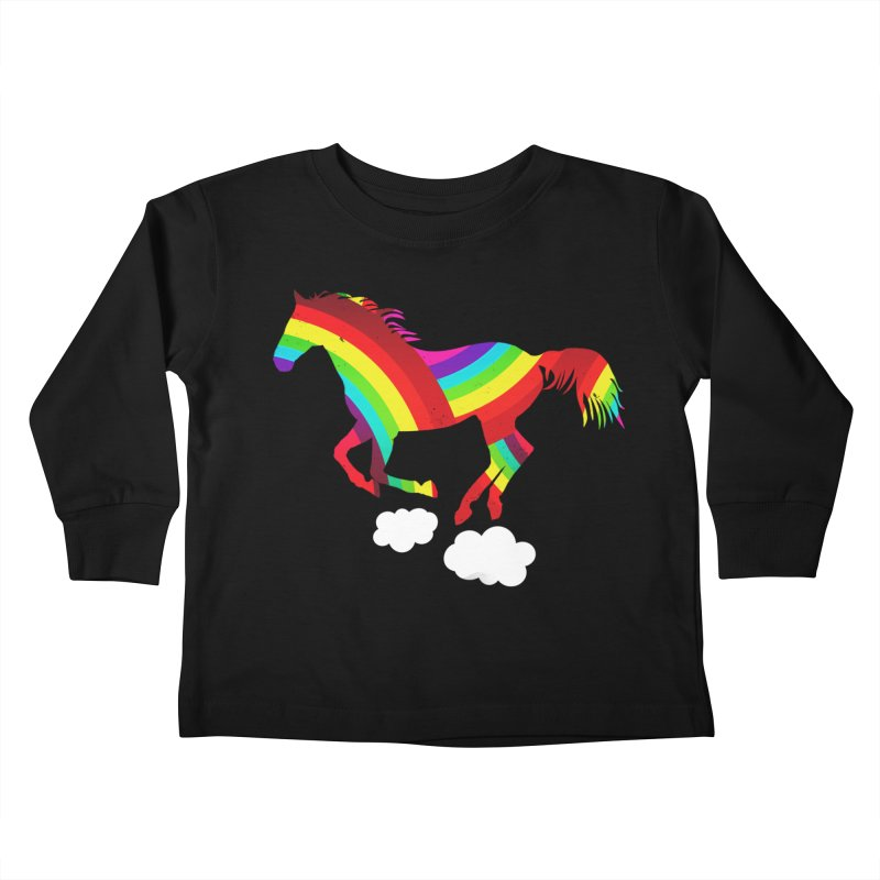 Made Of Rainbows Kids Toddler Longsleeve T-Shirt by ExplorerTales's Artist Shop