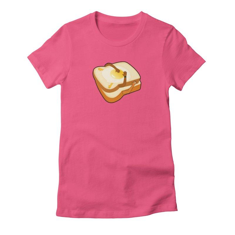 Breakfast in Bed Women's T-Shirt by ExplorerTales's Artist Shop