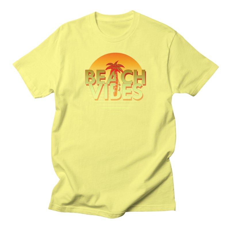 Beach Vibes Men's T-shirt by ExplorerTales's Artist Shop