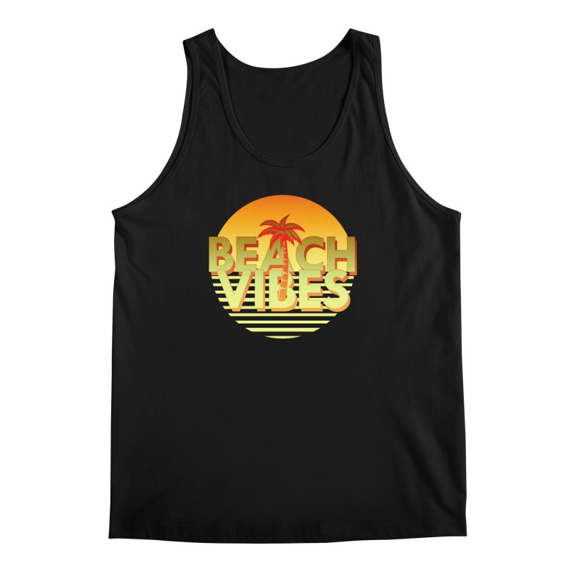 Beach Vibes Men's Regular Tank by ExplorerTales's Artist Shop