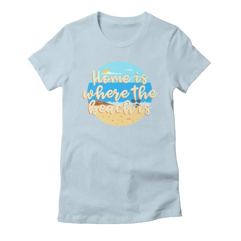 BeachLovers Women's T-Shirt by ExplorerTales's Artist Shop