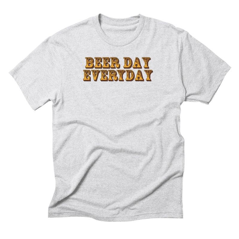 National Beer Day Men's Triblend T-Shirt by ExplorerTales's Artist Shop