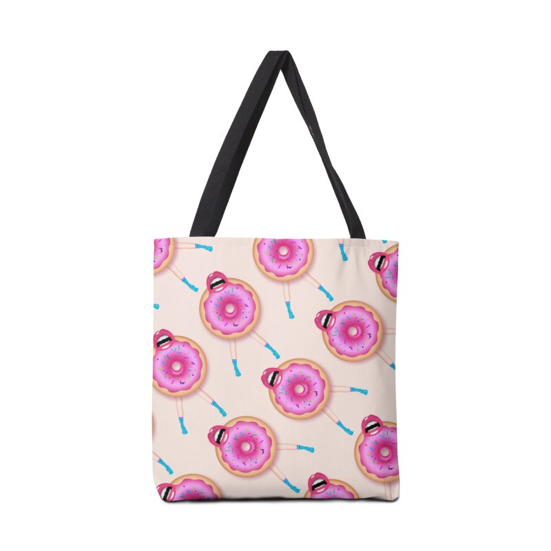 Donut Kiss Me Accessories Bag by ExplorerTales's Artist Shop