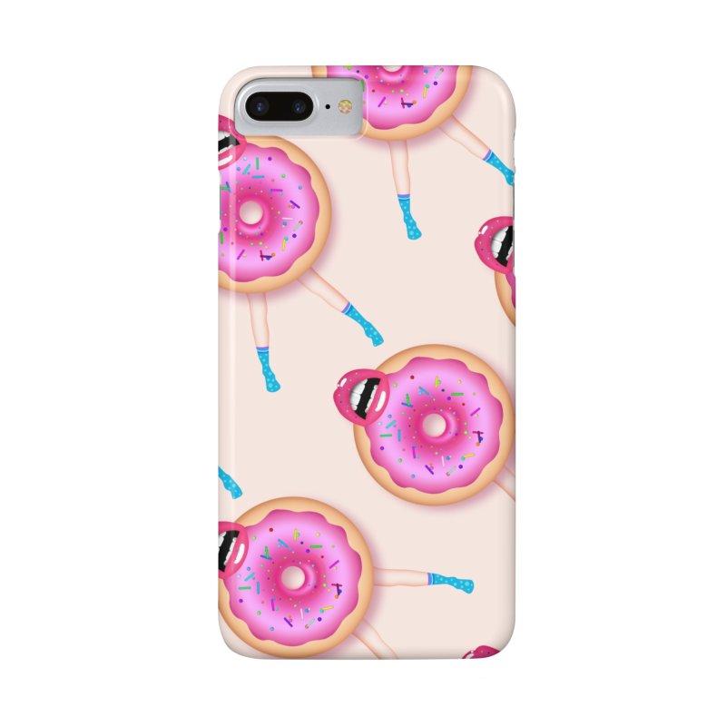 Donut Kiss Me Accessories Phone Case by ExplorerTales's Artist Shop