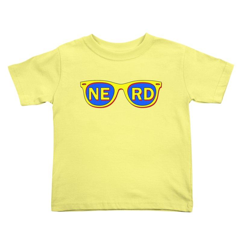 N E R D Kids Toddler T-Shirt by ExplorerTales's Artist Shop