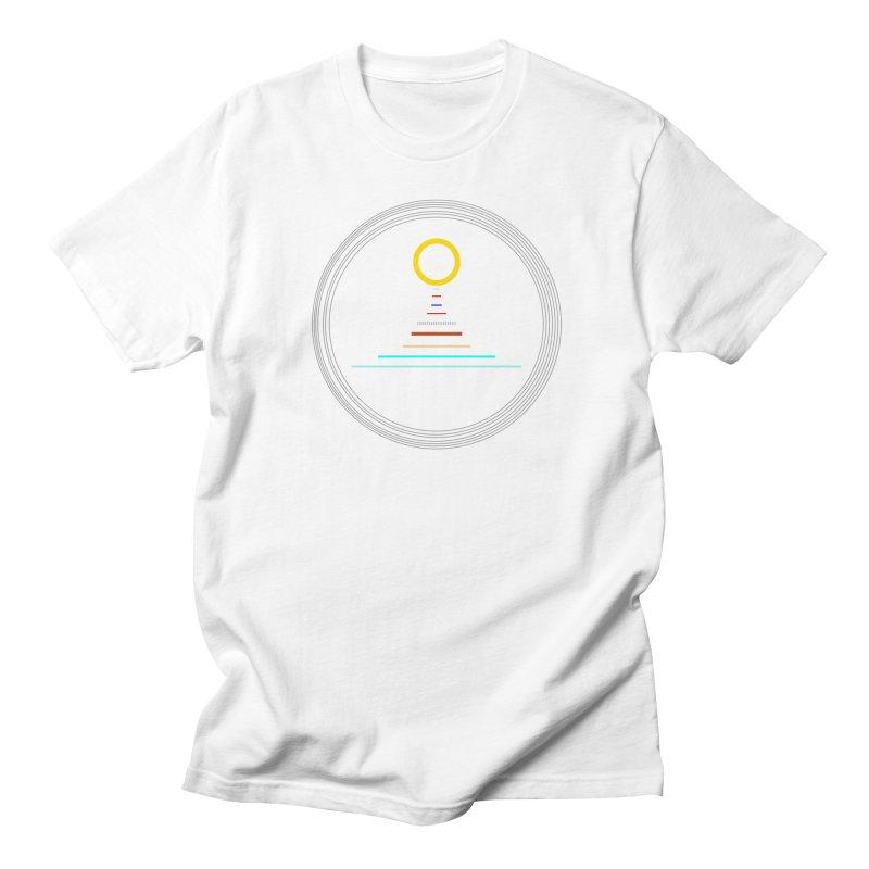Minimalistic-Solar-system Men's T-Shirt by ExplorerTales's Artist Shop