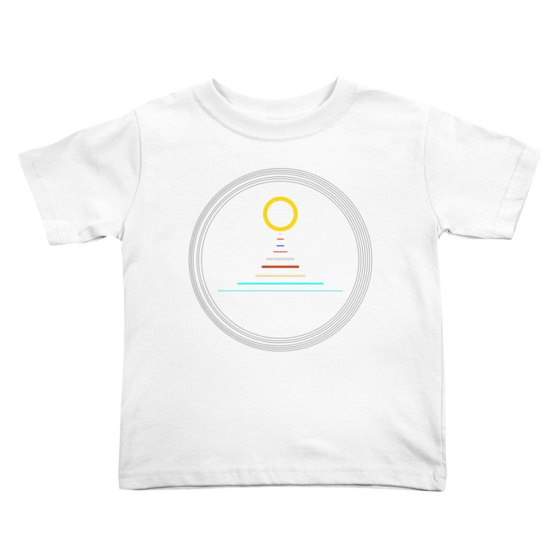Minimalistic-Solar-system Kids Toddler T-Shirt by ExplorerTales's Artist Shop