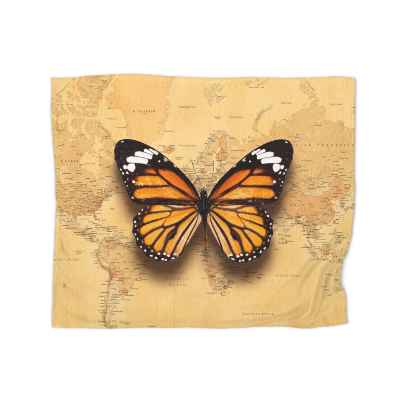 Wanderlust Home Blanket by ExplorerTales's Artist Shop