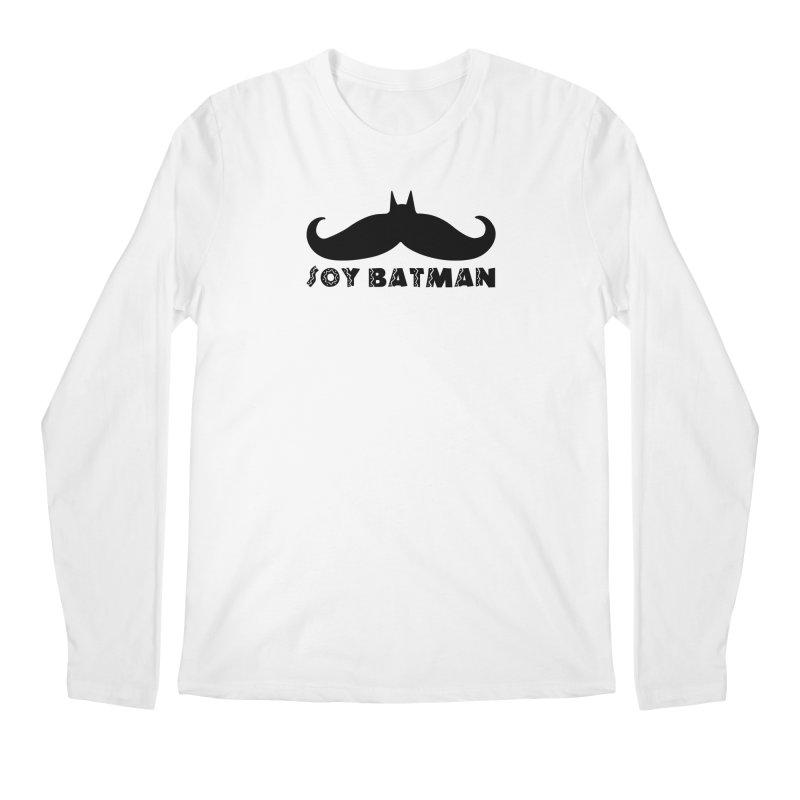 Soy Batman Men's Longsleeve T-Shirt by ExplorerTales's Artist Shop