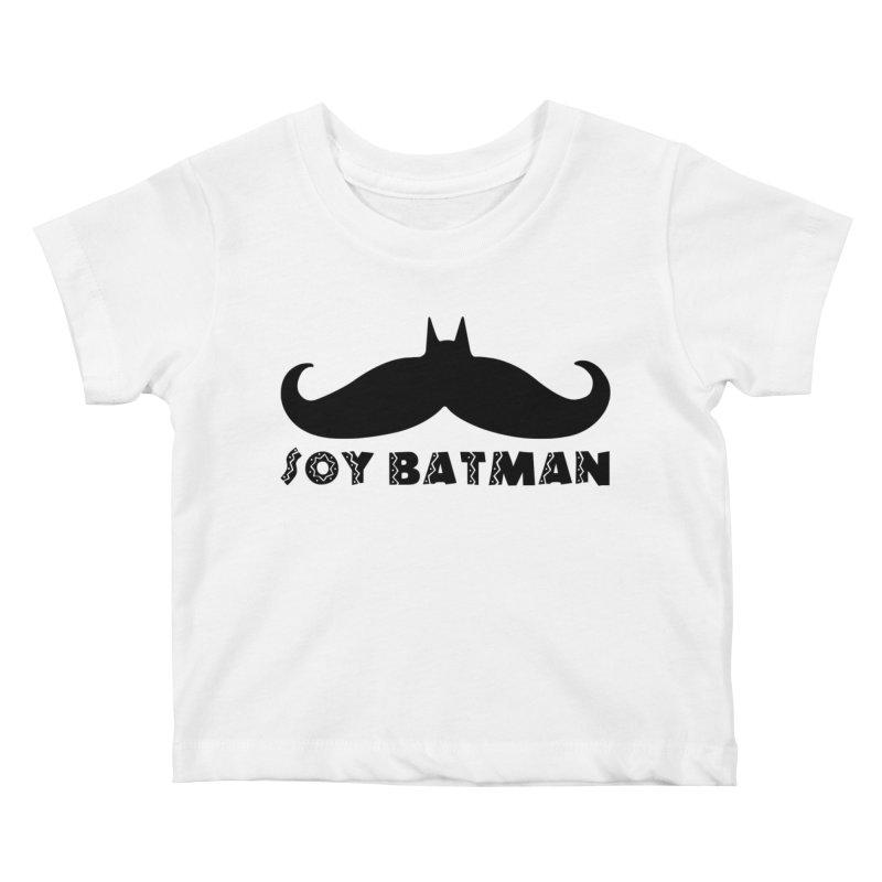 Soy Batman Kids Baby T-Shirt by ExplorerTales's Artist Shop