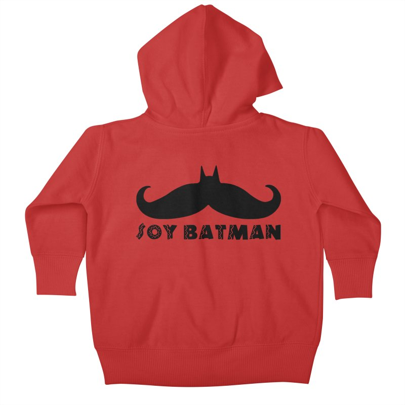 Soy Batman Kids Baby Zip-Up Hoody by ExplorerTales's Artist Shop