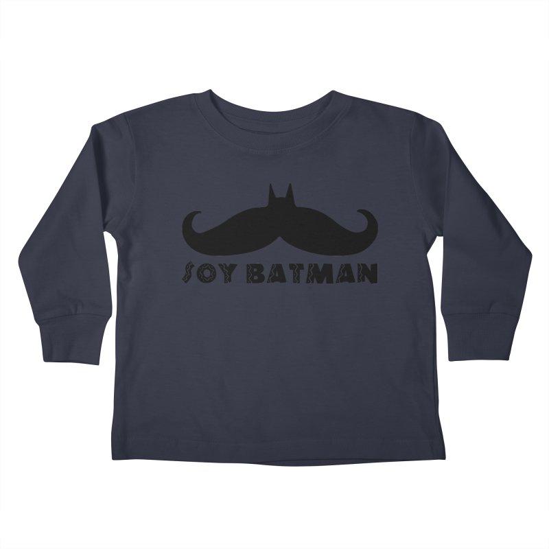 Soy Batman Kids Toddler Longsleeve T-Shirt by ExplorerTales's Artist Shop