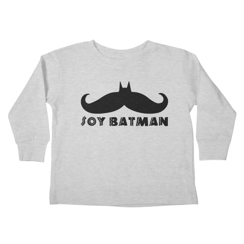 Soy Batman Kids Toddler Longsleeve T-Shirt by ExplorerTales's Artist Shop