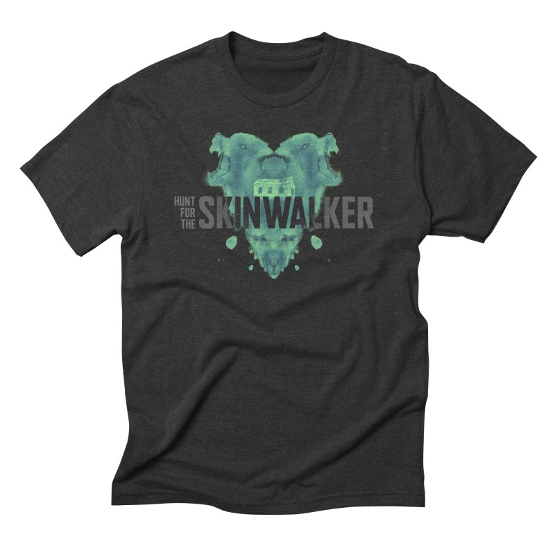 HUNT FOR THE SKINWALKER in Men's Triblend T-Shirt Heather Onyx by Extraordinary Beliefs Artist Shop
