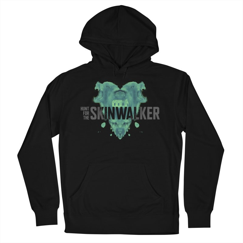 HUNT FOR THE SKINWALKER in Men's French Terry Pullover Hoody Black by Extraordinary Beliefs Artist Shop