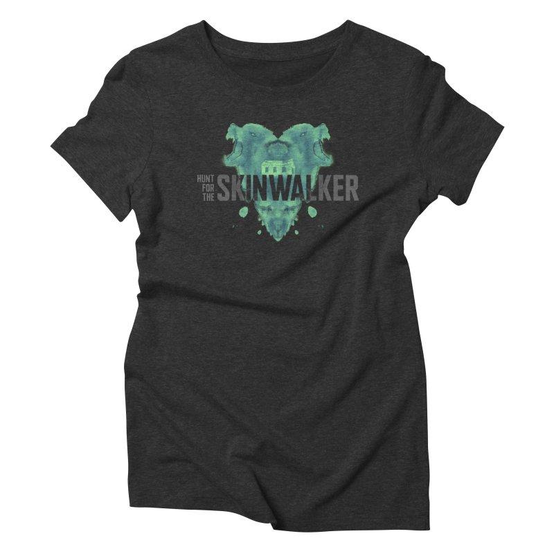 HUNT FOR THE SKINWALKER Women's Triblend T-Shirt by Extraordinary Beliefs Artist Shop