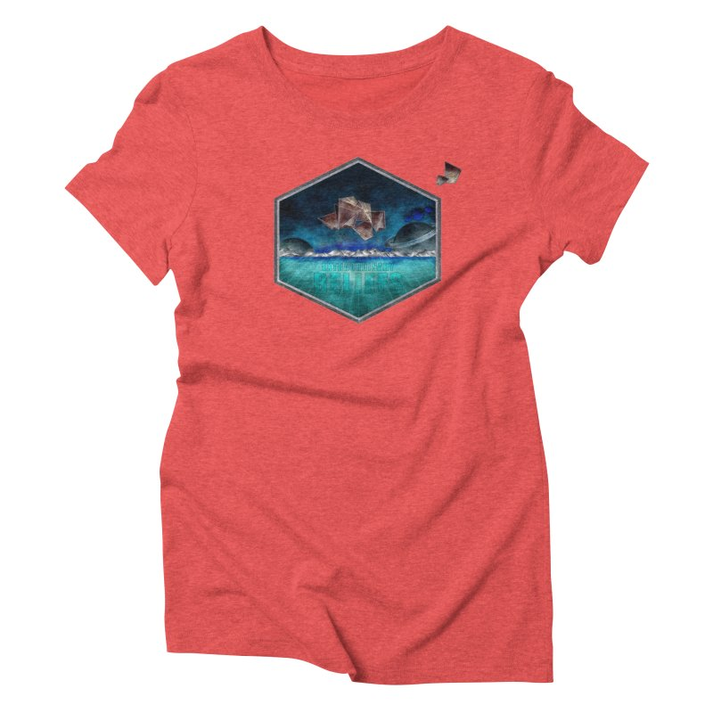 EXTRAORDINARY BELIEFS / DARK Women's Triblend T-Shirt by Extraordinary Beliefs Artist Shop