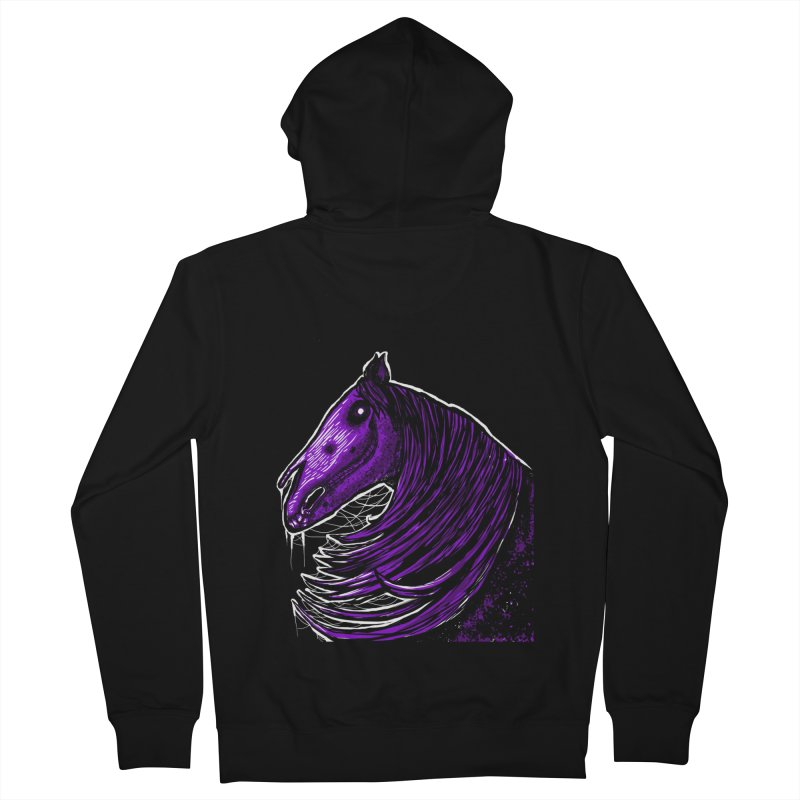 DARK HORSE Women's Zip-Up Hoody by Eyeless's Artist Shop