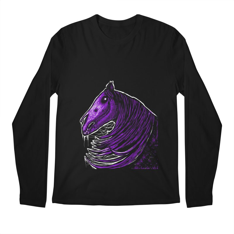 DARK HORSE Men's Longsleeve T-Shirt by Eyeless's Artist Shop