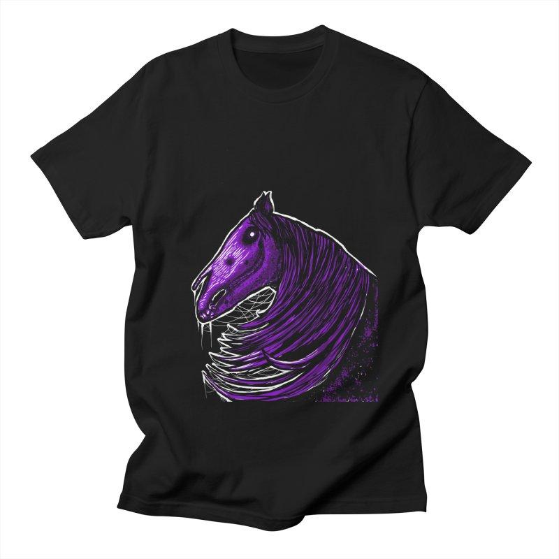 DARK HORSE Men's T-shirt by Eyeless's Artist Shop